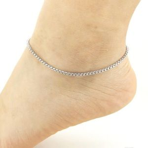 Jewelry - Stainless Steel Ankle Bracelet